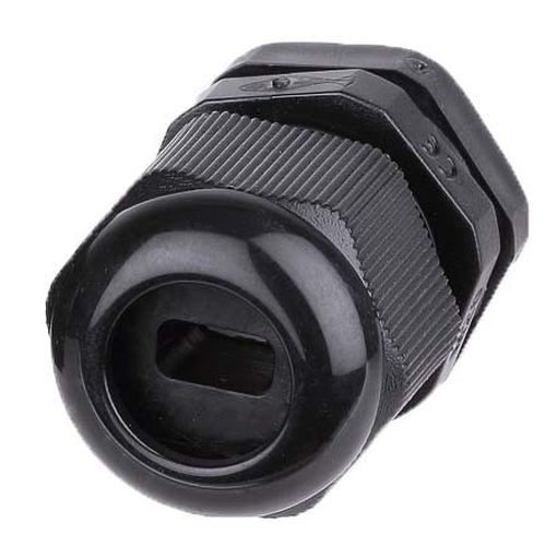 20mm M20 Flat Cable Ip68 Nylon Compression Glands Amp Locknuts